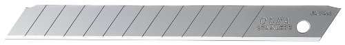 (OLFA 9282 AB-50S 9mm Stainless Steel Snap-Off Blade, 50-Pack)