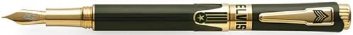 Montegrappa Elvis in Uniform Army Green Ltd. Fine Point Fountain Pen - ISICE1YG