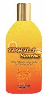 Tequila Sunrise Hot Tingle Tanning Lotion by Happy - Mall Shopping Sunrise