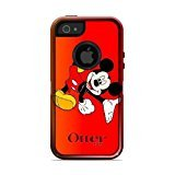 iPhone 5/5s/SE Case,OtterBox Commuter Series Custom Case for iPhone 5/5s/SE [Black] [MICKEY MOUSE](FGLKKLLD87402 )