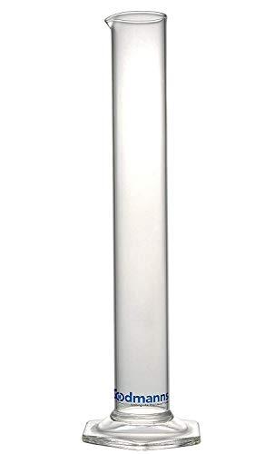 Alcohol Hydrometer Glass Test Jar: Measuring Cylinder Beaker Lab Tube for Home Brew Supplies. Triple Scale Tester Proofing Meter Equipment. Beer/Wine Making/Spirits/Whisky/Moonshine/High Proof Spirit (Hydrometer Alcohol)