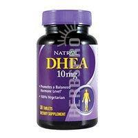 Natrol DHEA 10 мг вегетарианские таблетки, 30 фото - 5 шт.