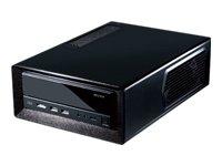 9 opinioni per Antec ISK300-150 Black Mini-ITX Case per PC, 150 W, PSU, 2 x USB 3.0, E-SATA,