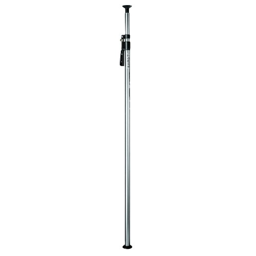 Manfrotto 432- 3,7 Single Deluxe Autopole 2 Extends from 82.7'' to 145.7'' (Silver) by Manfrotto