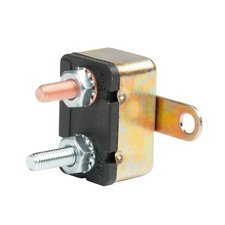 35 Amp Auto Reset Metal Circuit Breaker With Mounting Bracket 1 Min
