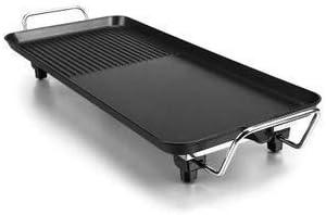 wok electrique Barbecue électrique Hot Pot, Ménage commercial Noir multi-fonctions de cuisson électrique Grill Pan Smoke Free Pot antiadhésifs fondue machine