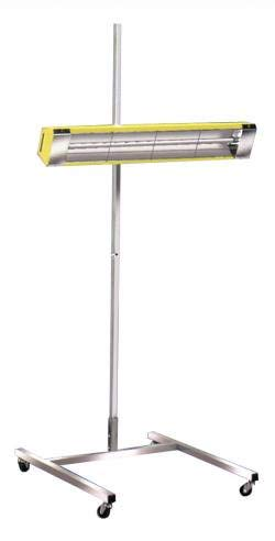 Med Wave 36 1500 Watt Infrared Electric Space Heater (Heating Infratech)