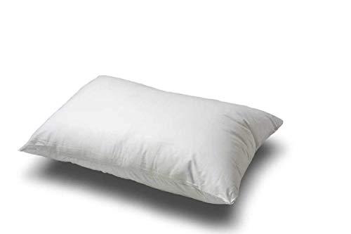 100% All Organic Cotton Fiber Medium Filled Queen Size Pillow.