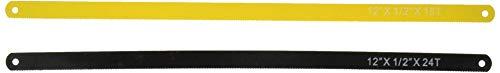 18t Hacksaw Blade - Performance Tool W739 Piece 4pc Hacksaw Blades, 24T, 18T