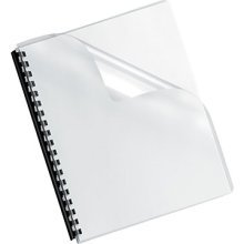 (Pre Punched Clear Book Covers For Comb Binding 19 Holes 100/Pk.)