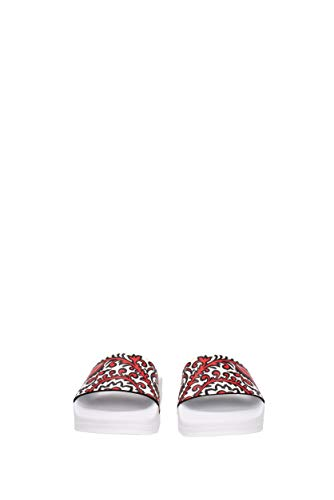 pour Red Femme Multicolore Valentino Mules xTq0AnqS8