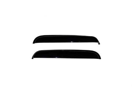 Auto Ventshade 15025 Rear Window Ventvisor Side Window Deflector Set for 1999-2016 Ford F-250, F-350 to F-550 Super Duty