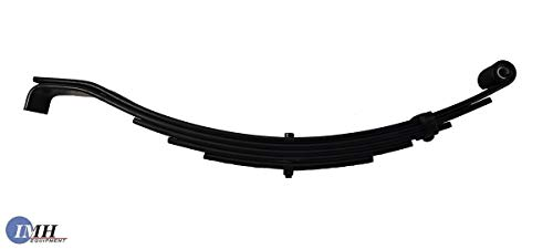 Trailer Leaf Spring- Slipper 5 Leaf, Double Eye 3500lbs Capacity for 7000 Lbs Axles ()