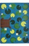Joy Carpets Kid Essentials Early Childhood Playful Pond Rug, Multicolored, 5'4'' x 7'8''