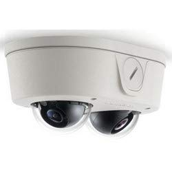 (ARECONT VISION AV6656DN-28 IP Camera, Micro Dome, Dual, Day/Night, Indoor/Outdoor, H.264/MJPEG, 4096 x 1536 Resolution, F1.8 2.8 MM Lens, 7.9 Watt,)