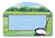 Golf Scene Interchangeable Magnetic Yard Design by Magnet Works