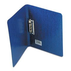 Presstex Grip Punchless Binder With Spring-Action Clamp, 5/8'' Cap, Dark Blue By: ACCO