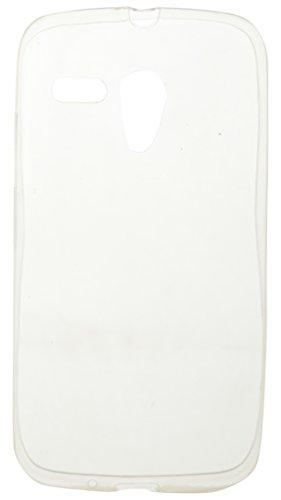 iCandy™ Soft Silicone TPU 0.3 mm Transparent Back Cover for Motorola Moto G 1st Gen   Transparent
