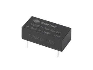 CUI Inc VIBLSD1-S12-S15-DIP VIBLSD1-DIP Series 15 V 67 mA 1 W Single Output DC-DC Isolated Converter - 100 item(s) by CUI Inc