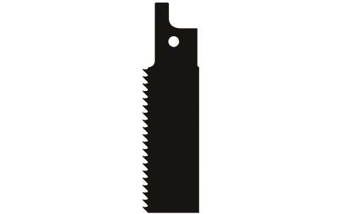Wolfcraft 2293000 2 Lames de Scie Sabre Bim, Dents Ondulé es Et Fraisé es, Pas de Dents 1,8 Mm, Longueur Denté e 130 Mm Dents Ondulées Et Fraisées Longueur Dentée 130 Mm