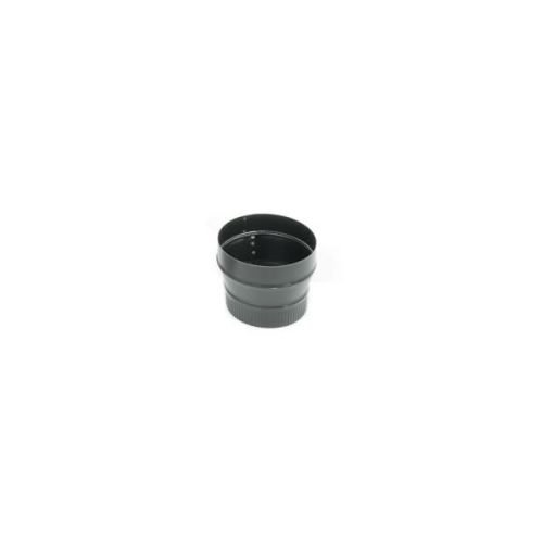 Price comparison product image Copperfield 73470 24-ga Snap-Lock Black Stovepipe 5 Inch To 6 Inch Increaser,  Crimp On Small End