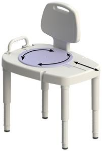 NV725881000EA - Extra Wide Tall-Ette Elevated Toilet Seat with Aluminum Legs