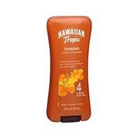 Hawaiian Tropic Tanning Lotion Spf#4 8 Ounce (235ml) (3 Pack)
