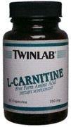 Twinlab L Carnitine 250 Mg 90 Cap - Acid 250 Mg 90 Caps