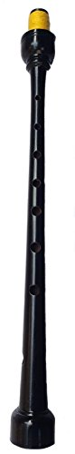 - TC New Great Highland Bagpipe Pipe Chanter Rosewood Black Color Free 2 Cane Reeds