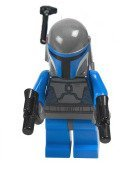 LEGO Star Wars - Minifigure Mandalorian with Double Blaster - x1 Loose (Lego Star Wars Double Sets)