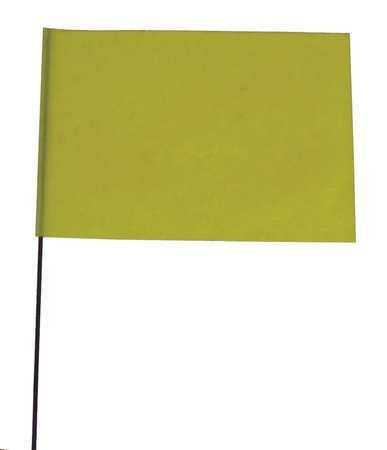 marking-flag-fluor-yellow-vinyl-pk100
