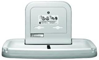 product image for Koala Kare KB200-01 Horizontal Wall Mounted Baby Changing Station, Grey