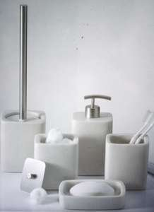 Villeroy Boch Badezimmer Set Seifenspender Toilettenbürste Deko