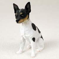 - Rat Terrier Original Dog Figurine (4in-5in)