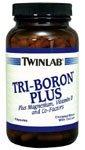 Tri-Бор Кроме того, с магний, витамин D и сопутствующих факторов, 240 капсул