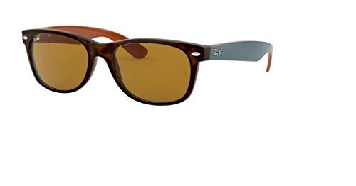 - Ray Ban RB2132 NEW WAYFARER 6179 55M Matte Havana/Brown Sunglasses For Men For Women