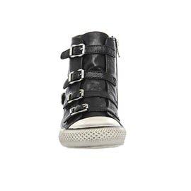 Ash - Virgin Shine Buckle Trainer Shoe, Mordore/Antic Gun Black Nappa Wax