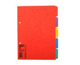 Cardboard File Divider Size Pack of 100 REGIONAL Per Pkt