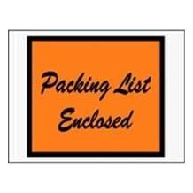 The Packaging Wholesalers 4 1/2x6-Inch Full Face Packing List Envelope, 1000/Case (ENVPQ1)