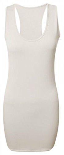 RIDDLEDWITHSTYLE - Camiseta sin mangas - para mujer blanco