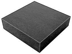 Foam Sheet, 300135 Poly, Charcoal, 3x24x72