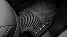 Black 4 Piece Set 2020 Highlander 7 /& 8 Passenger. TOYOTA Genuine Highlander All-Weather Floor Liners PT908-48200-20
