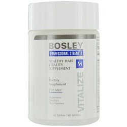 BOSLEY by HEALTHY HAIR VITALITY SUPPLIMENT FOR MEN 60 TABLETS BOSLEY by HEALTHY HAIR VITALITY SUP