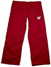 - Wisconsin Red Scrubs Bottoms - Small