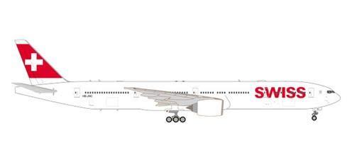 (Herpa 559317 Swiss Int Air Lines B777-300ER, Colour)