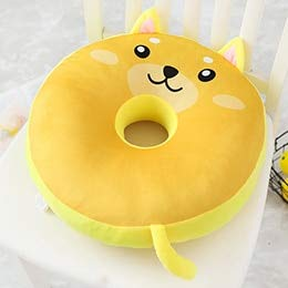 Amazon.com: VKISI - Almohada de peluche con forma de donut ...