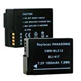 1000mA, 7.2V replacement Li-Ion battery for Panasonic DMC-TS25 video cameras - Empire Scientific #BLI-417 by EMPIRE