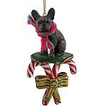 1 X Schnauzer Miniature Dog Ornament - Black by Conversation Concepts - Tiny One Dog Ornament