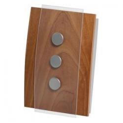 Honeywell RCW3503N1002/N Decor Wired Door Chime W/ Push Button