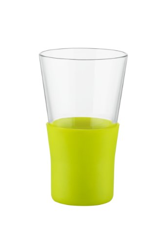 Bormioli Rocco Ypsilon Brio Mug, Lime Green, Set of 6 ()